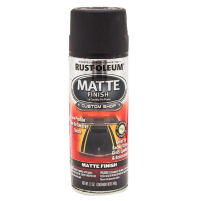 Esmalte en aerosol automotive negro mate 340 g