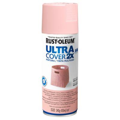 Esmalte en aerosol ultra cover 2x rosa claro br...