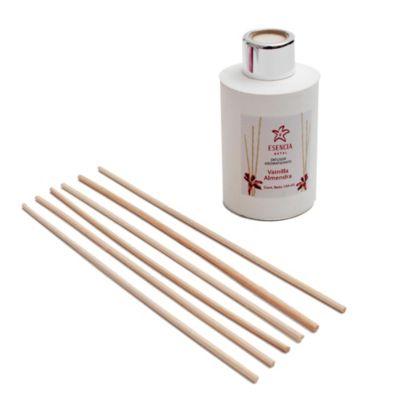 Difusor de aromas 150 ml blanco con bolsa organizadora