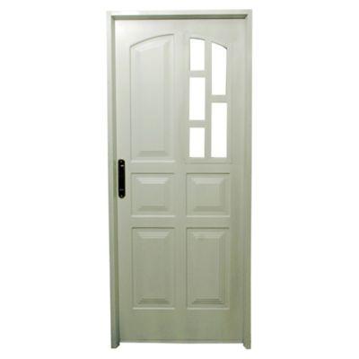 Puerta de acero doble 80 x 200 x 9,8 cm derecha