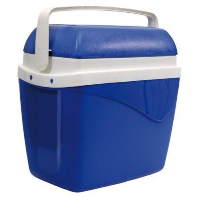 Conservadora portátil 32 l azul y blanco