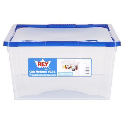 Caja plástica modubox 10 l 26 x 16 x 37 cm