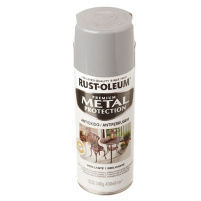 Esmalte protector en aerosol gris humo 340 g