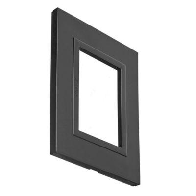 Tapa gris oscuro zen basic