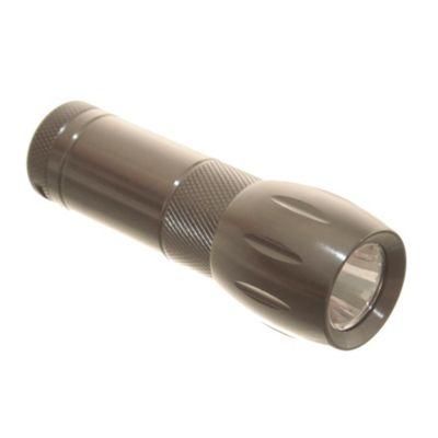 Linterna compacta de metal 6 LED´s