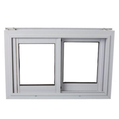 Ventana de aluminio   60 x  40 cm blanca