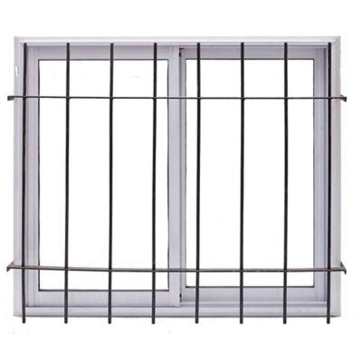 Ventana de aluminio 120 x   90 cm blanca