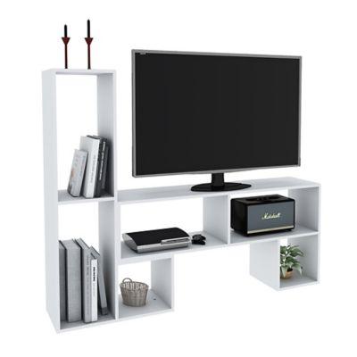 Rack para TV Blanco 120 x 59 x 30 cm