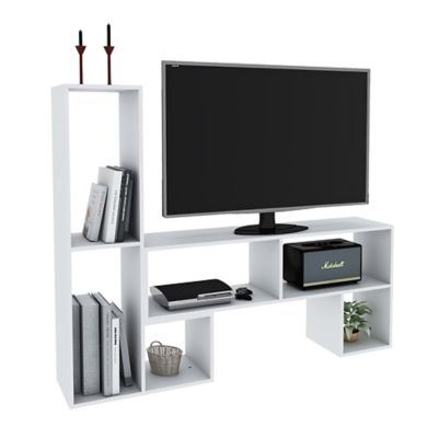 Rack para TV blanco
