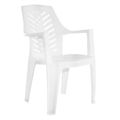 Silla Marbella de plástico blanco