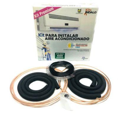 Kit de instalación para aire acondicionado hasta 4500 frigorias Premium