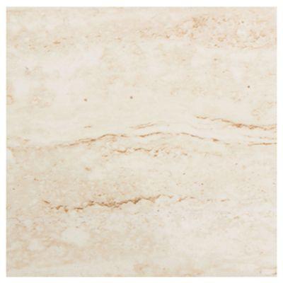 Porcelanato brillante  57.5 x 57.5 Travertino beige 1.32 m2