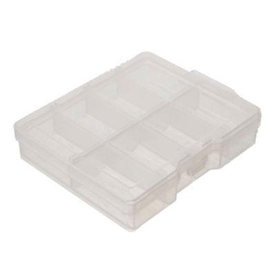 Gavetero de herramientas plástico de 8 divisiones