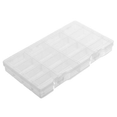 Gavetero de herramientas plástico de 16 divisiones