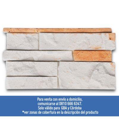 Revestimientos de piedra mendoza 17 x 33 cm