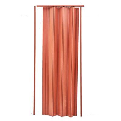 Puerta plegable simil cedro 84 x 204 cm
