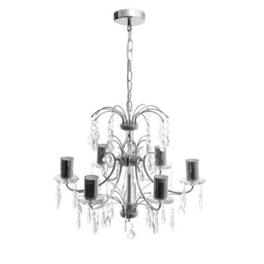 Lámpara de con caireles techo colgante araña velas y zqSUMVpG