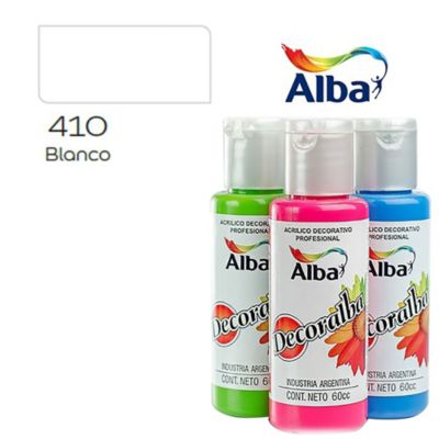 Acrílico blanco 60 ml