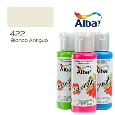 Acrílico blanco antiguo 60 ml