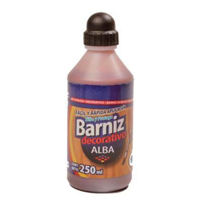 Barníz acrílico cedro 250 ml