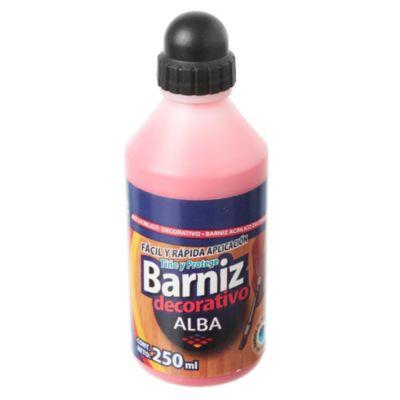 Barníz acrílico rojo 250 ml