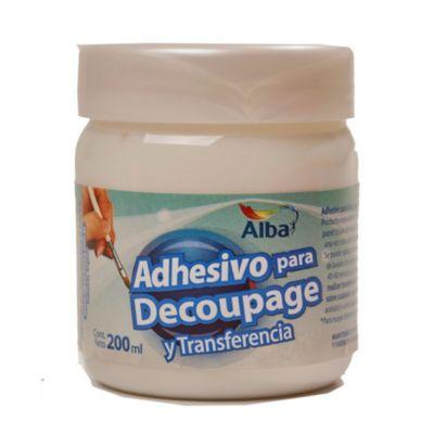 Adhesivo para decoupage