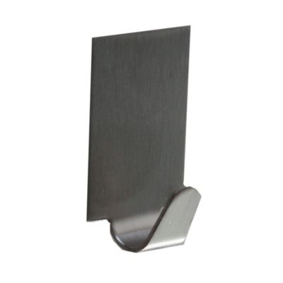 Gancho Autoadhesivo Rectangular x 4 Unidades Metal