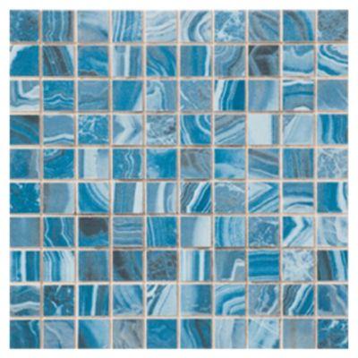 Revestimiento cerámico 25 x 25 Agatha azul