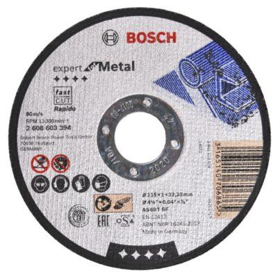 Disco de corte metal acero inoxidable 115 mm