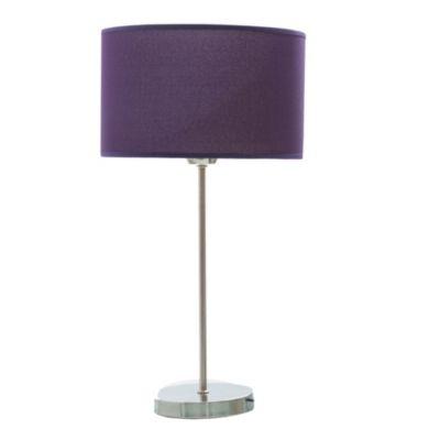 Lámpara de mesa una luz violeta e27
