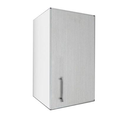 Alacena Lugano 35 cm roble blanco aluminio
