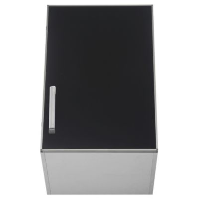 Alacena Lugano 40 x 62.5 cm negro aluminio