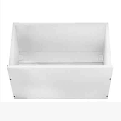 Alacena porta microondas Lugano 60 x 62.5 cm blanco PVC