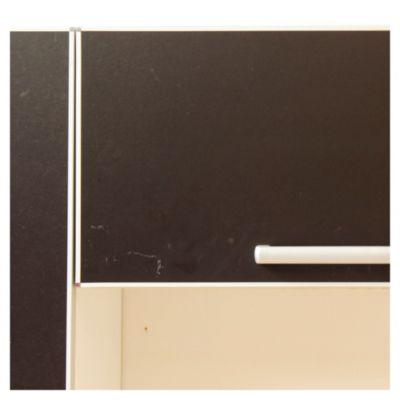 Alacena Lugano 60 x 31 cm negro aluminio