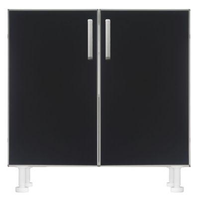 Bajo mesada 80 x 82.5 cm negra