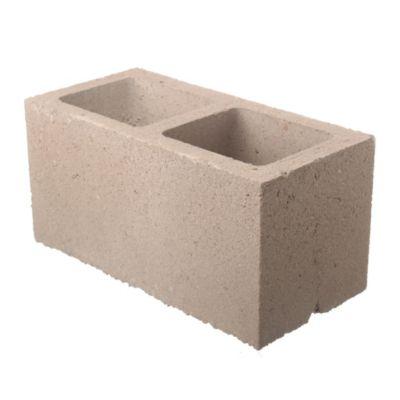 Bloque de hormigón liso para muro 20 cm