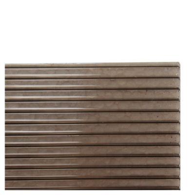 Placa de policarbonato alveolar bronce 1.05 x 2.9 de 4 mm