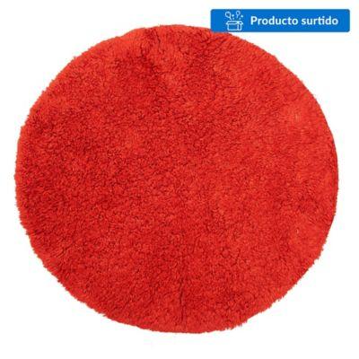 Alfombra círculo algodón 60 mm
