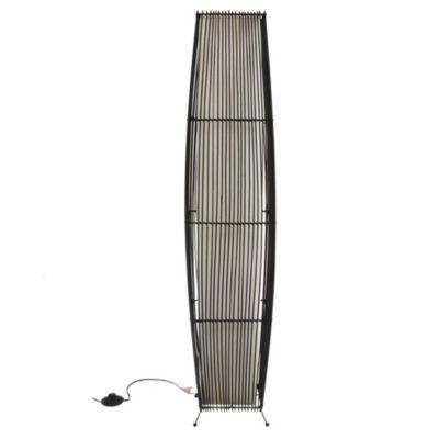 Lámpara de pie Oval Bamboo
