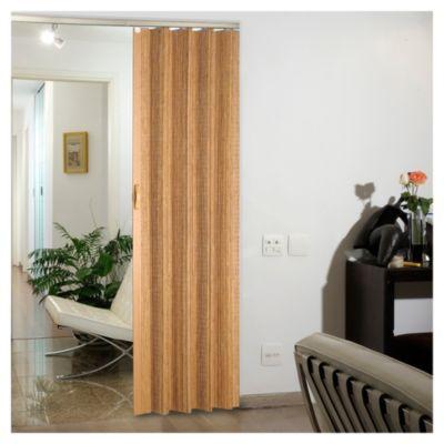 Puerta plegable bamboo roble 90 cm