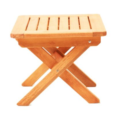 Mesa de exterior Iberá de madera de eucaliptus natural
