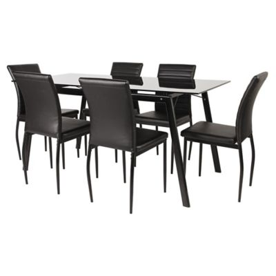 Set comedor Dartagnan mesa + 6 sillas - Just Home Collection - 2062062