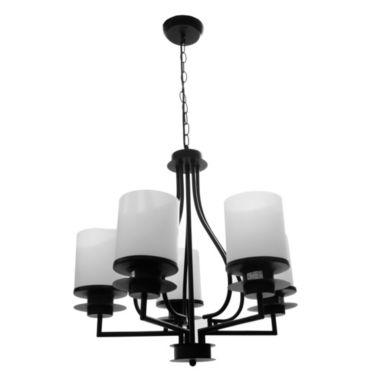 Casa 5 luces colgante de Bonita Lámpara fierro Vaso con EDYH29WI