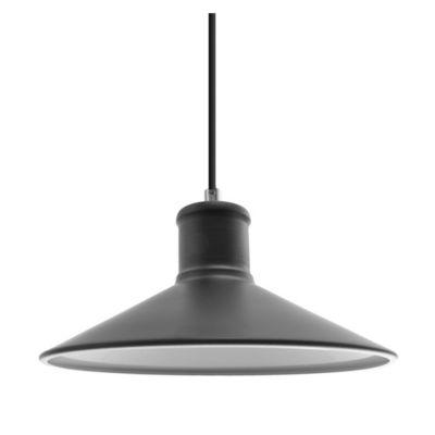 Lámpara colgante de cocina 1 luz e27 negro