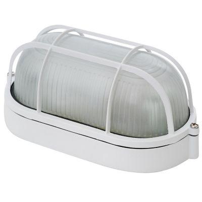 Tortuga de aluminio oval blanco