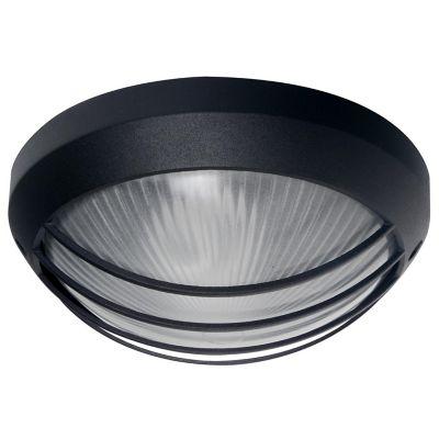 Tortuga de aluminio redondo negro