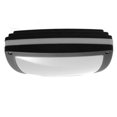 Tortuga de aluminio blanca o negra cuadrada 2 luces E27