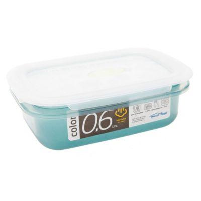 Caja para alimentos con válvula 600 cc