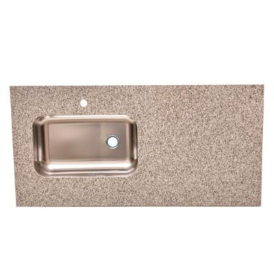 Mesada de granito gris mara 120 x 60 cm