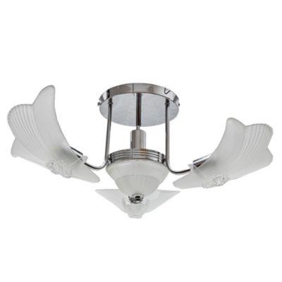 Lámpara de techo Turin Hojas 4 luces E27